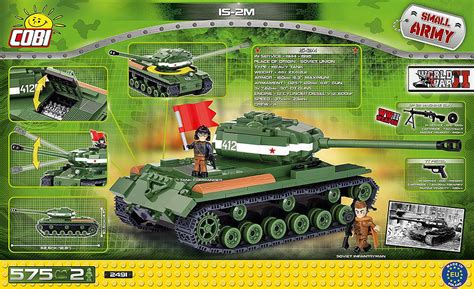 Cobi 2491 575 Pcs Small Army Is 2 575 Kl bricker construction by cobi 2491 is 2m