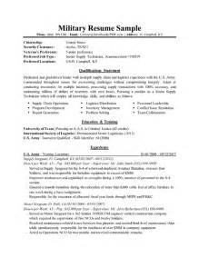 Sample Military Resume Professional Executive Amp Military Resume Samples By Drew