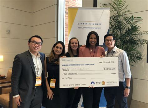 Ucla Mba Tuition Part Time by Let S Get Real Ucla Team Takes Top Honors