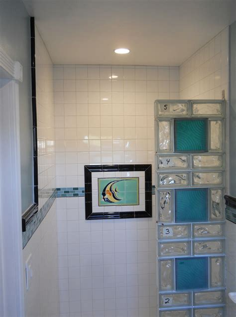 glass blocks bathroom walls how to design and build a glass block shower wall and base