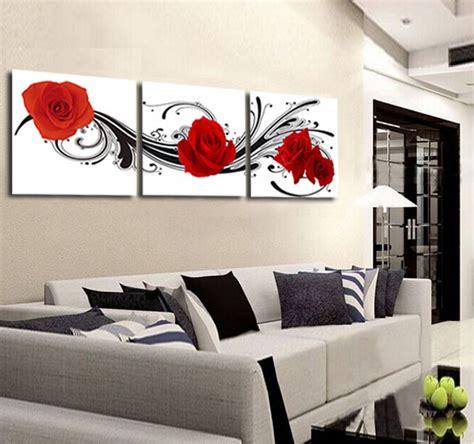 Dekorasi Dinding Rumah Kantor Lukisan Kanvas Modern Murah Ls 32174 kualitas tinggi mawar merah gambar beli murah mawar merah gambar lots from high quality china