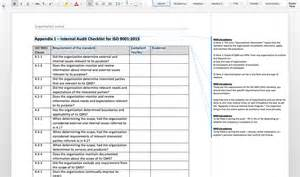 Iso 9001 Checklist Template by Iso 9001 2015 Audit Toolkit 9001academy