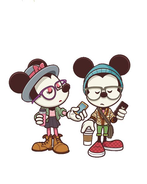 imagenes hipster de mikey mickey and minnie hipsters png 2 by glorijadubravcic on