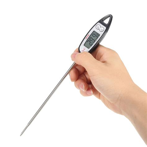 backyard grill digital meat thermometer digital probe cooking thermometer food drink temperature