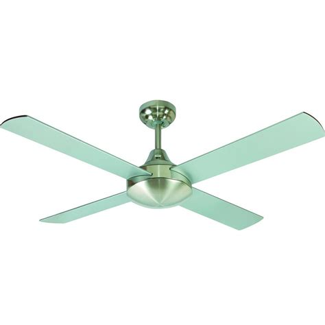 silver 3 blade ceiling fan jantec lighting accord 120cm 4 blade ceiling fan