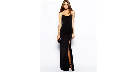 Maxi Maryam by Lyst Forever Unique Maryam Cami Maxi Dress With Thigh