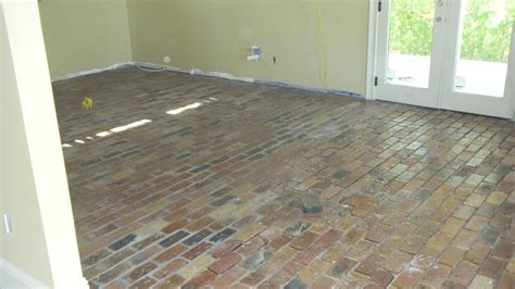 Thin Brick Pavers Porteaux Progress Flooring Has Begun