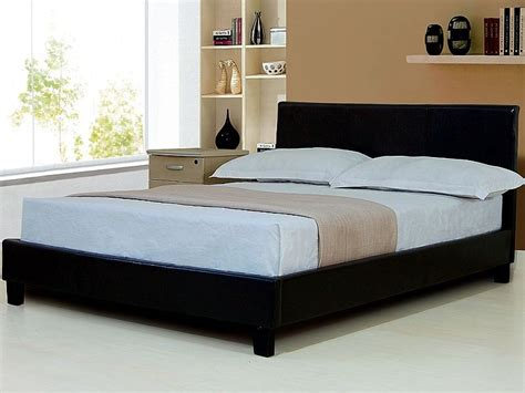 bed sale roma sleigh double leather bed frame bed mattress sale