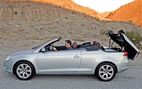 2007 volkswagen eos first drive review motor trend 2007 volkswagen eos first drive review motor trend