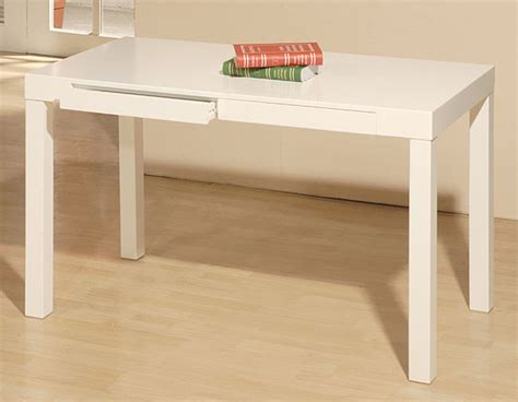 Modern Simple Desk Student Desk White Modern Desks And Hutches By Overstock