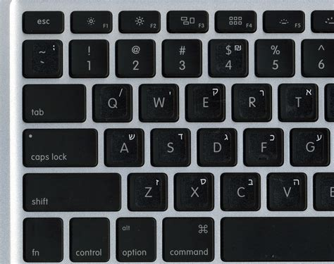 keyboard stickers hebrew white transparent keyboard stickers for mac apple