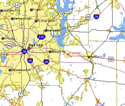 forney texas map where in the world is forney texas