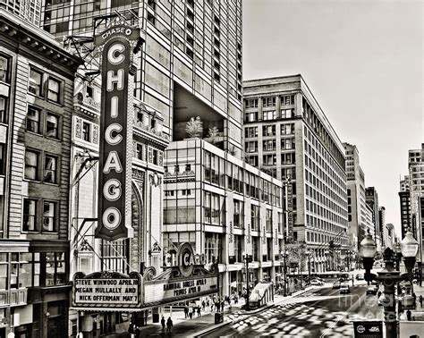 Movie Theatre Home Decor old chicago theatre photograph by emily kay