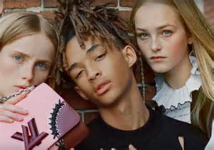 How To Style Transitioning Hair - jaden smith stars in louis vuitton s the heroine