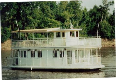 river house boats for sale custom built 42 classic river boat style houseboat 1934 used boat for sale in other louisiana