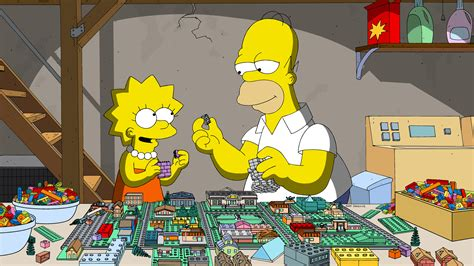 Floorplan For My House by The Simpsons Lego Episode Review Collider