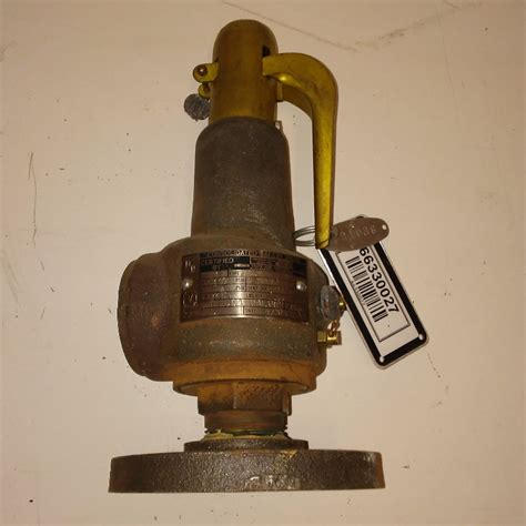 Dresser Safety Relief Valve by Dresser 1543f 1 Quot 100 Psig 1631 Capacity Consolidated