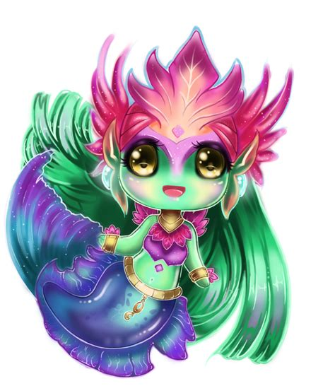 anime chibi chibi river spirit nami by lighane on deviantart