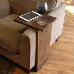 armchair laptop table sofa chair arm rest tray table stand