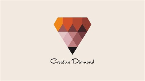 design logo inspiration for youtube diamond logo design inspiration corel draw tutorial