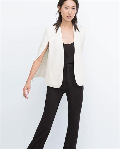 Cape Blazer Zara Cape Jacket From Zara Clothing