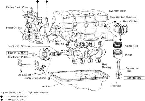 1985 toyota engine diagram get free image about