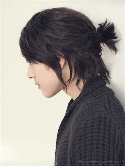 asian hairstyles buns the samurai bun hairstyle asian men and long hairstyle