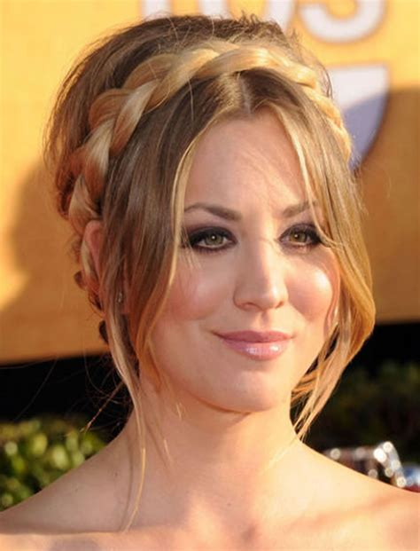 side bang braid hairstyles 40 stylish crown braids hairstyles for long hair
