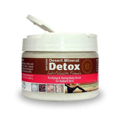 Tanning And Detox by Extended Vacation Desert Mineral Detox Scrub