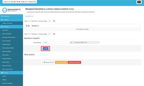yahoo email blacklist how to blacklist or whitelist in spamexperts web hosting hub