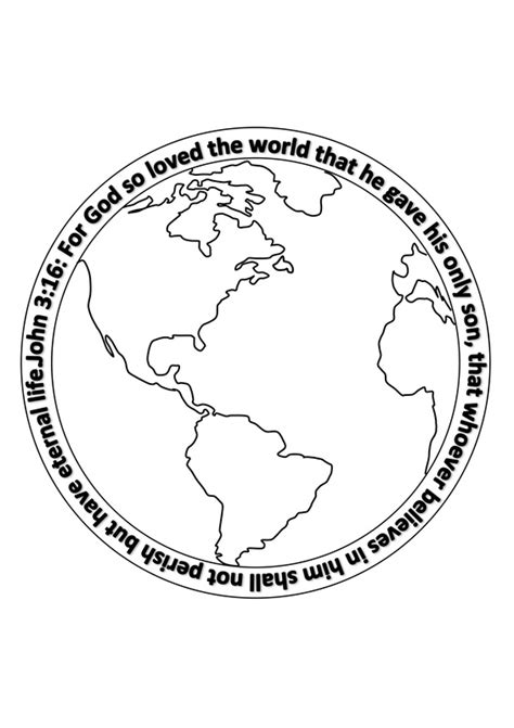 coloring page for god so loved the world for god so loved the world page coloring pages