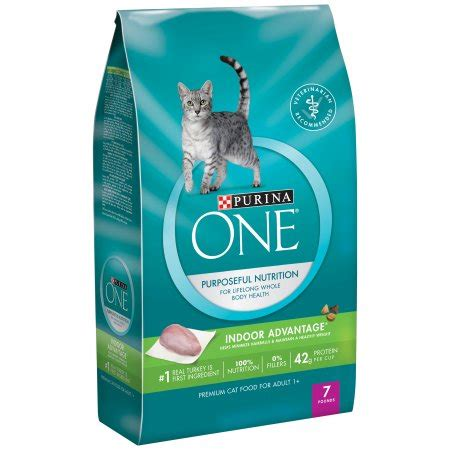 purina treats purina one cat purina one indoor advantage premium cat food 7 lb bag shop