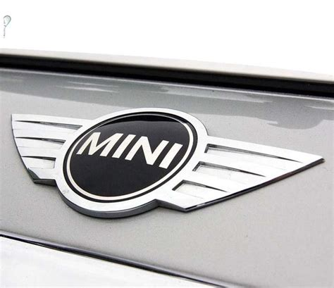 Tempelan Emblem Badge Mini Enkei mini cooper badge logo front bonnet metal sticker rear trunk emblem ebay