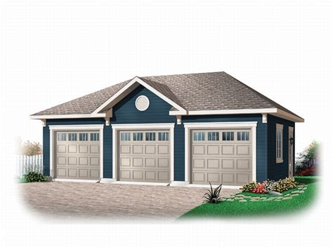 Three Car Garage Plans by Three Car Garage Plans Traditional 3 Car Garage Plan