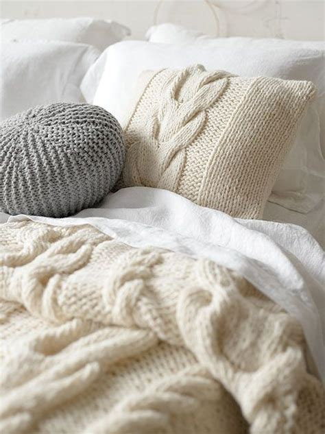 knit comforter cable knit bedding softly and furnished pinterest