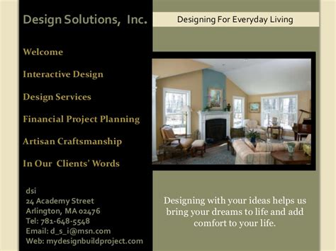 elements of interior design slideshare residential powerpoint presentation