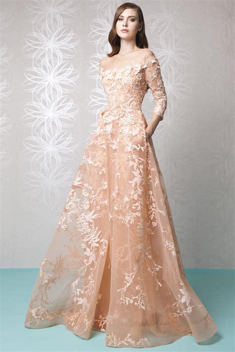 net pattern gown spring summer 2016 tony ward