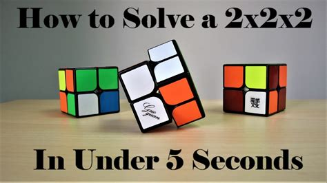 tutorial rubik 2x2 how to solve the 2x2 rubik s cube part 2 tutorial cubing
