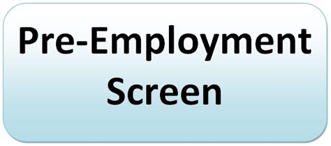 What Is Included In A Pre Employment Background Check Labcorp Pre Employment Screen Procedure Background Checks And Criminal