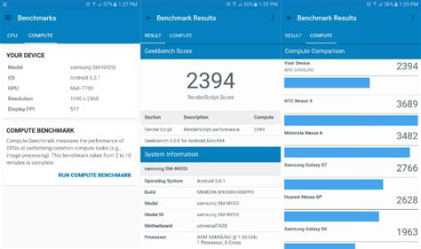 bench geek اپلیکیشن تست بنچمارک geekbench 4 برای ios و اندروید منتشر