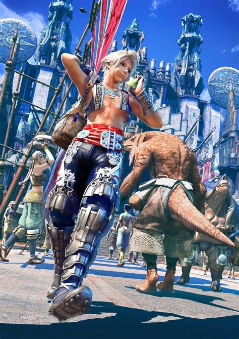 artwork ffxii sector  zodiac age
