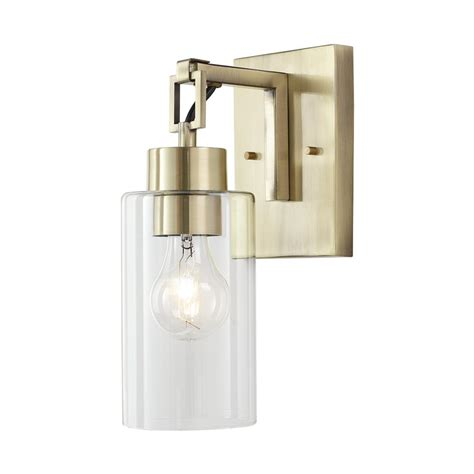 Bathroom Sconces Home Depot by Noteworthy Brass Sconces Deco Mirrored Brass Sconces
