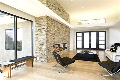 Glass Enclosed Fireplace | 34 modern fireplace designs with glass for the