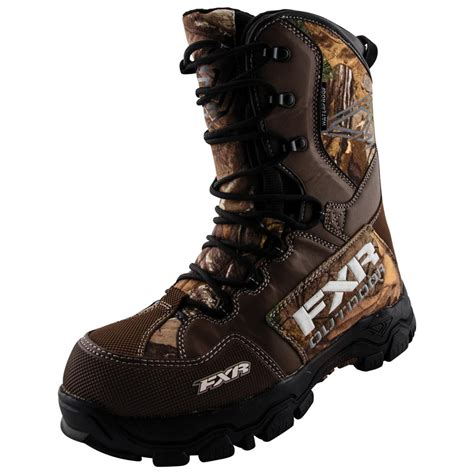 camo boots mens s fxr x cross snowmobile camo boots 590352