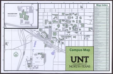 university of texas library maps university of texas cus map 2014 15 sequence 1 unt digital library