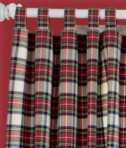 Tartan Plaid Curtains Stewart Plaid Curtains Tartan