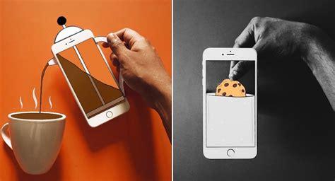 ilusiones opticas con papel con su celular y peque 241 as ilustraciones de papel 233 l crea