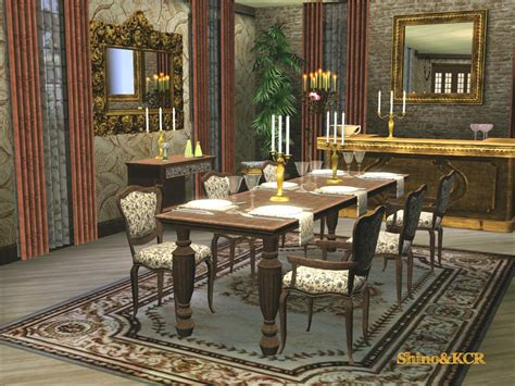 Dining Room Set Sims 3 Shinokcr S Dining