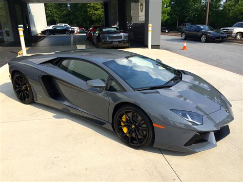 lamborghini light grey photos of an amazing 2015 lamborghini aventador coupe in