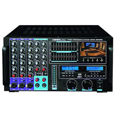 karaoke console idolpro 1500w ip 6000 professional karaoke console mix